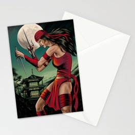 Our Lady of Electric Light Stationery Cards