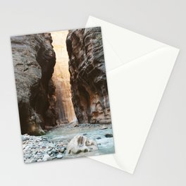 The Zion Narrows Stationery Cards