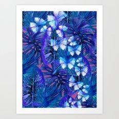 My Tropical Garden 7 Art Print