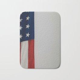 Side Flag (Color) Bath Mat
