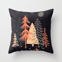 A Spot in the Wood... Throw Pillow