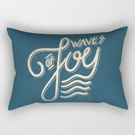 Waves of Joy Rectangular Pillow