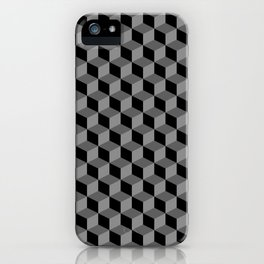 Stacked Cubes GS iPhone Case
