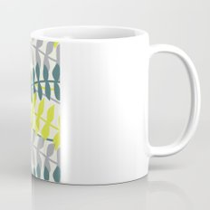 seagrass pattern - teal and lime Mug