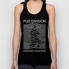 Pug Division Unisex Tank Top