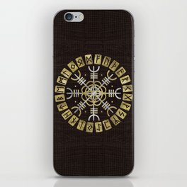 The helm of awe iPhone Skin