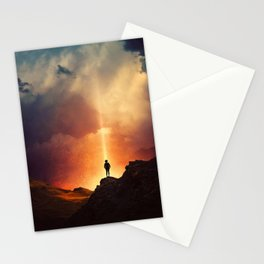 At the edge of the World  Stationery Cards