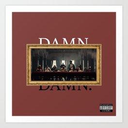 Kendrick Lamar Damn Art Print