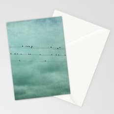 Birds on Wires Stationery Cards