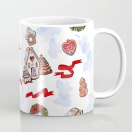 hand drawn pattern of winter decoration Coffee Mug