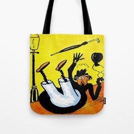 Cartoon comics 8 Tote Bag