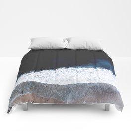 Ocean III (drone photography) Comforters