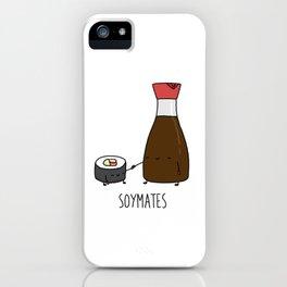 Soymates iPhone Case