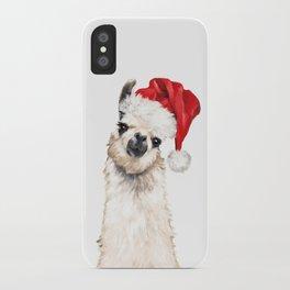Christmas Llama iPhone Case