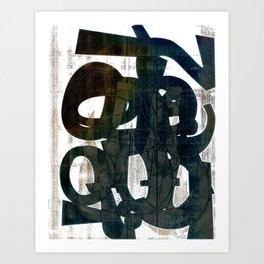 Luh Art Print