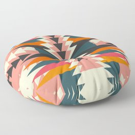 Colorful ethnic decoration Floor Pillow