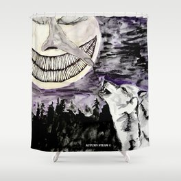 On The Full Moon Shower Curtain