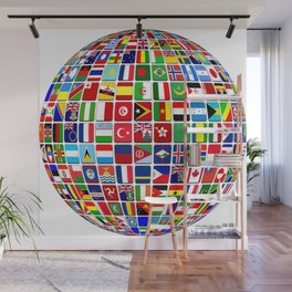 world Wall Mural