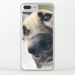 A Dog's Life! Clear iPhone Case