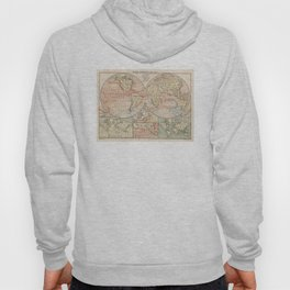 Vintage World Ocean Currents Map (1905) Hoody