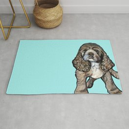 Lego the Cocker Spaniel Rug