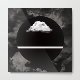 Every Cloud Has A Silver Lining Metal Print