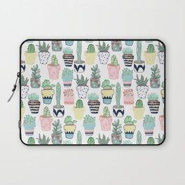 Cute Cacti in Pots Laptop Sleeve