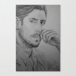 Milo Ventimiglia - Peter Petrelli Drawing Canvas Print