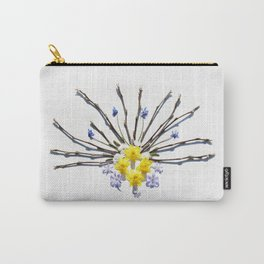 Spring flowers and branches I Carry-All Pouch