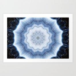 Agate Mandala Art Print