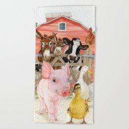The Farm Beach Towel