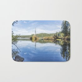 The Snag at Clear Lake Bath Mat