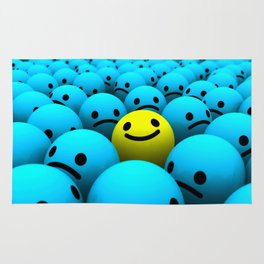 Don't worry be happy Rug