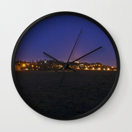 Lincoln At Dusk Wall Clock