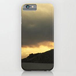 Isolated islet iPhone Case