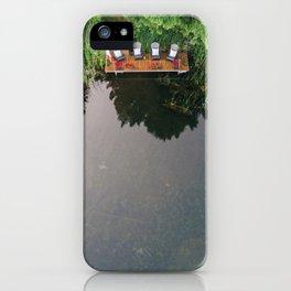 Cottage Dock iPhone Case