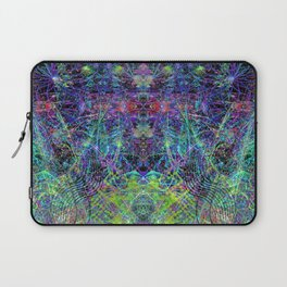 Con-Tici Cosmogenesis (abstract, psychedelic, visionary) Laptop Sleeve