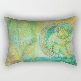 Angel Painting Rectangular Pillow