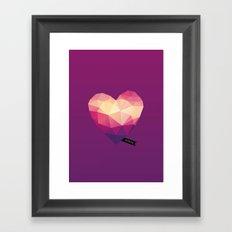 Vector Love 01 Framed Art Print