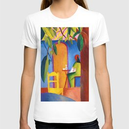 12,000pixel-500dpi - August Macke - Turkish Cafe - Digital Remastered Edition T-shirt