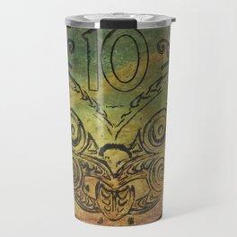 Pounamu 10c tiki Travel Mug