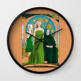 The Summer Court of the Sidhe Wall Clock