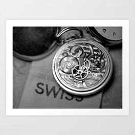Swiss Watch  Art Print