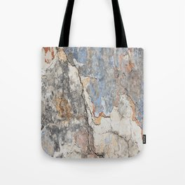 Flaking Weathered Wall rustic decor Tote Bag