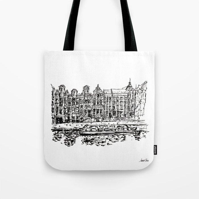 Urban Inkscape 9 Amsterdam Tote Bag