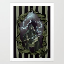 Tragically Ever After: Severus Snape Art Print