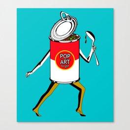 Pop Art to Go Canvas Print