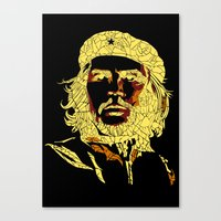 che Canvas Prints featuring che by raj verma