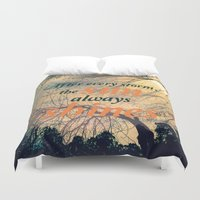 sunshine Duvet Covers featuring Sunshine by Graphic Tabby