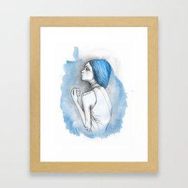 blue2 Framed Art Print